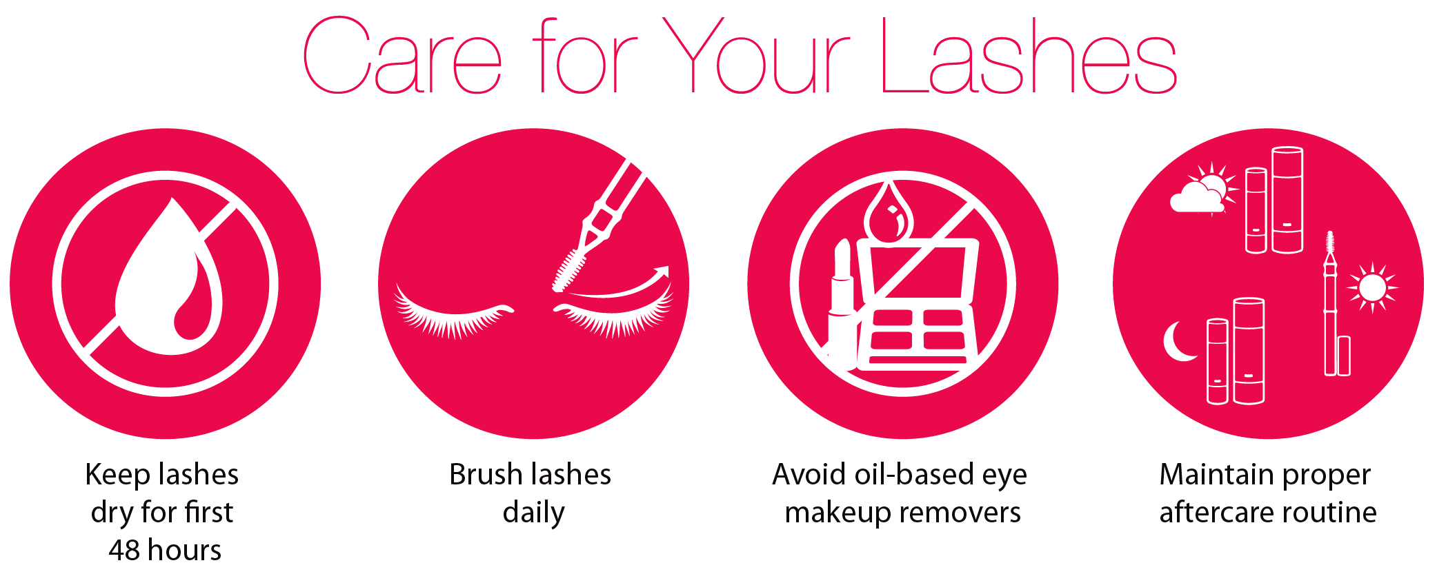 care for your lashes