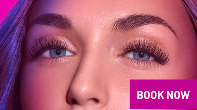 Book Now. Live your year with lashes.