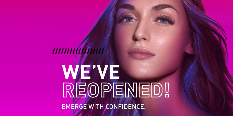 Emerge with Confidence - Now Booking at Amazing Lash Studio - We've reopened to refresh your lashes